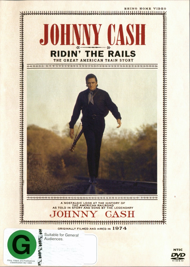 Johnny Cash - Ridin' the Rails on  image