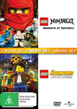 Lego: The Adventures Of Clutch Powers and Lego Ninjago on DVD