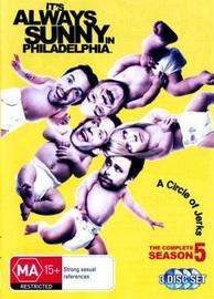 Its Always Sunny in Philadelphia - Season 5 on DVD