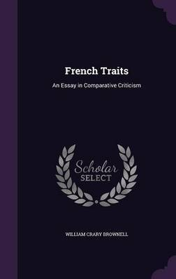 French Traits by William Crary Brownell image