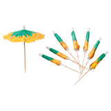Sunnylife Cocktail Umbrellas - Pineapple (Set of 24)