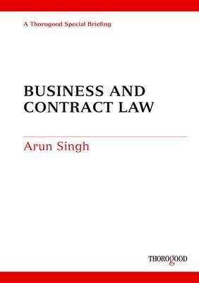 Business and Contract Law by Arun Singh image