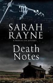 Death Notes by Sarah Rayne image