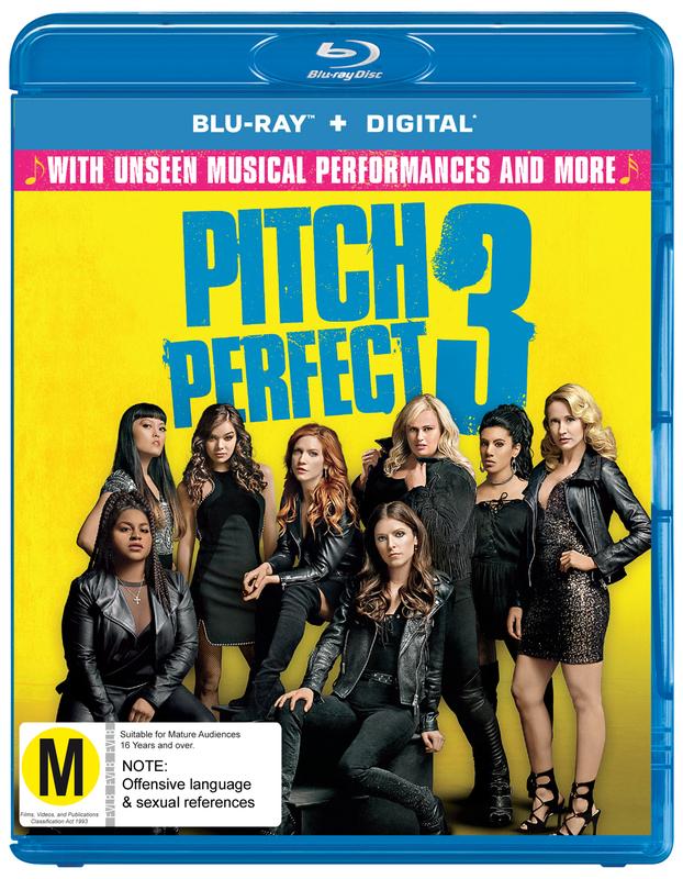 Pitch Perfect 3 on Blu-ray