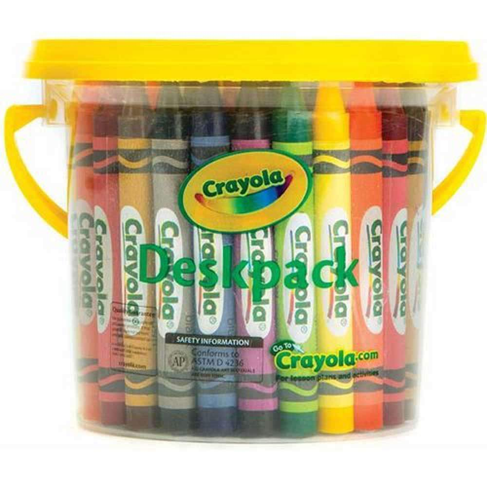 Crayola: Large Crayon - Deskpack (48-Piece/6 Colours) image