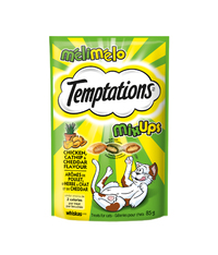 Temptations Mixups Cat Treats - Chicken, Catnip and Cheddar Flavours (85g)