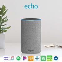 Amazon: Echo (2nd Generation) Speaker - Grey image