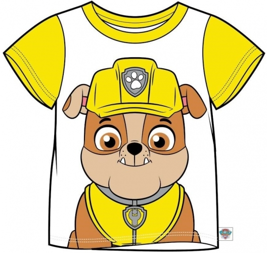 Paw Patrol: Rubble Kids T-Shirt - 6-7
