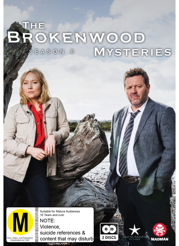 The Brokenwood Mysteries - Series 6 on DVD