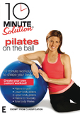 10 Minute Solution - Pilates On The Ball on DVD