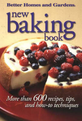 New Baking Book by Better Homes & Gardens