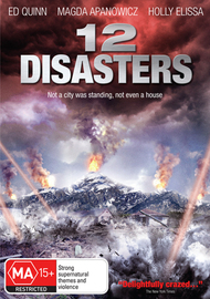 12 Disasters on DVD