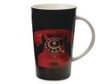 Maxwell & Williams - Christopher Vine Dial Tone Conical Mug - Black (420ml)