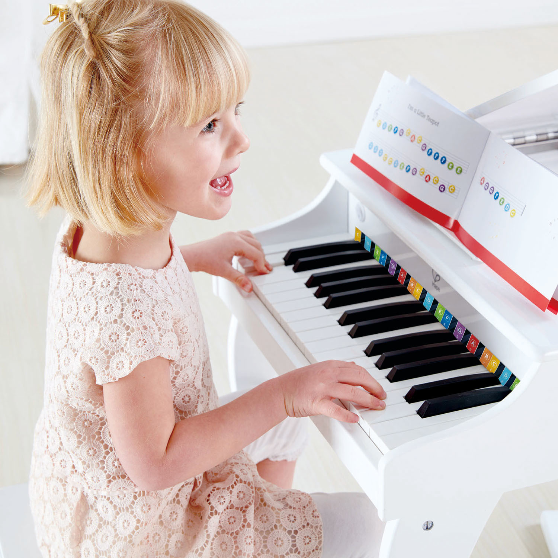 Hape: Deluxe Grand Piano - White image
