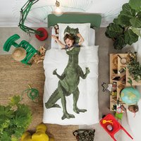 Snurk: Quilt Cover Set Dino - Single