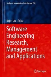 Software Engineering Research, Management and Applications image