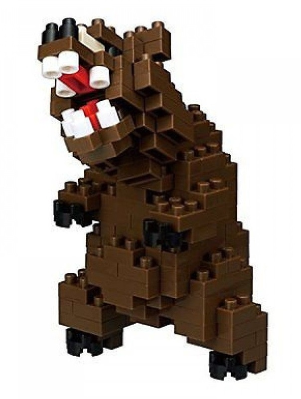nanoblock: Critter Series - Grizzly Bear