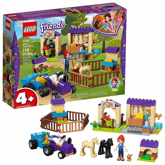 Lego Friends Mias Foal Stable 41361 Toy At Mighty Ape Nz