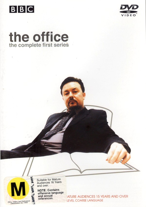 The Office - The Complete First Series on DVD image