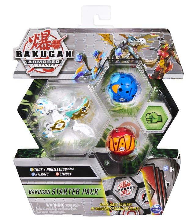 Bakugan: Armored Alliance - Starter Pack (Haos Trox x Nobillious)