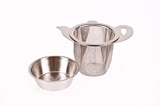 Stainless Steel Mug Tea Infuser with Drip Tray