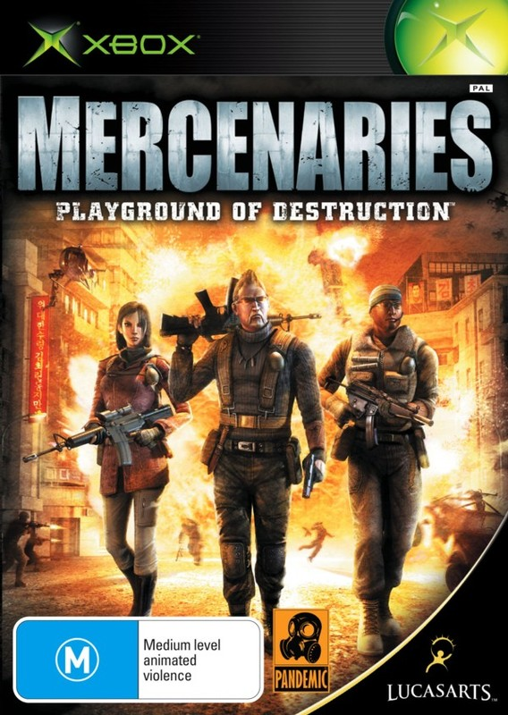Mercenaries for Xbox