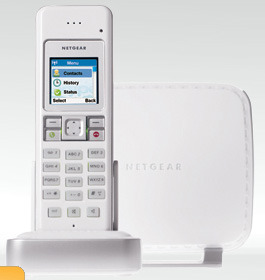 Netgear SPH200D Dual-mode Cordless Phone with  Skype