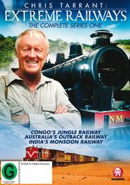 Chris Tarrant's Extreme Railways -Series 1 on DVD