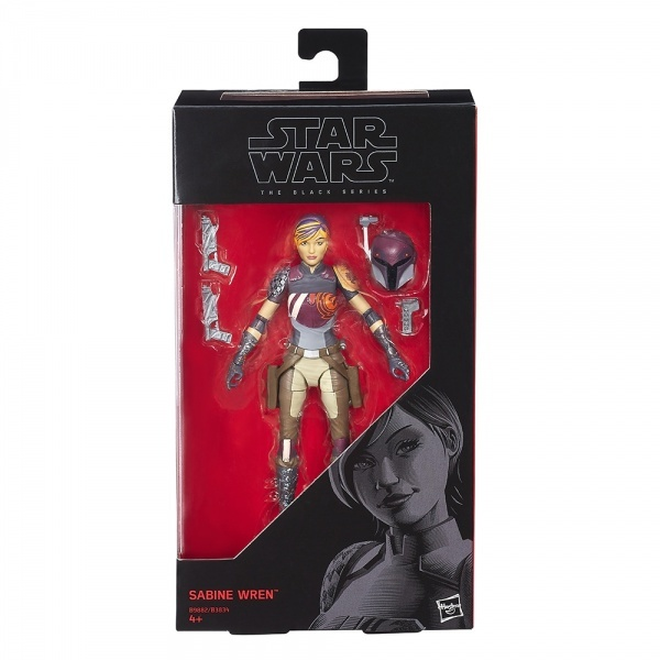 "Star Wars The Black Series: 6"" Sabine Wren image"