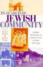 In Search of Jewish Community by Michael Brenner