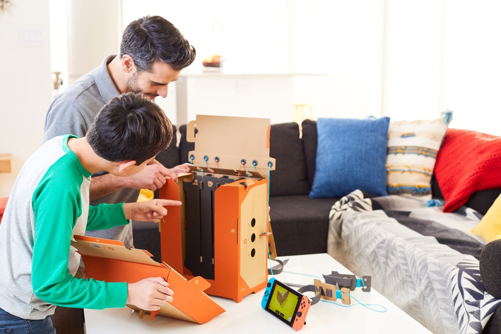 Nintendo Labo Toy-Con 02 Robot Kit for Nintendo Switch image