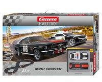 Carrera: Evolution - Most Wanted Slot Car Set (Camaro/Mustang)