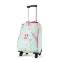 Pineapple Bunting Wheelie Bag (4 Wheels)