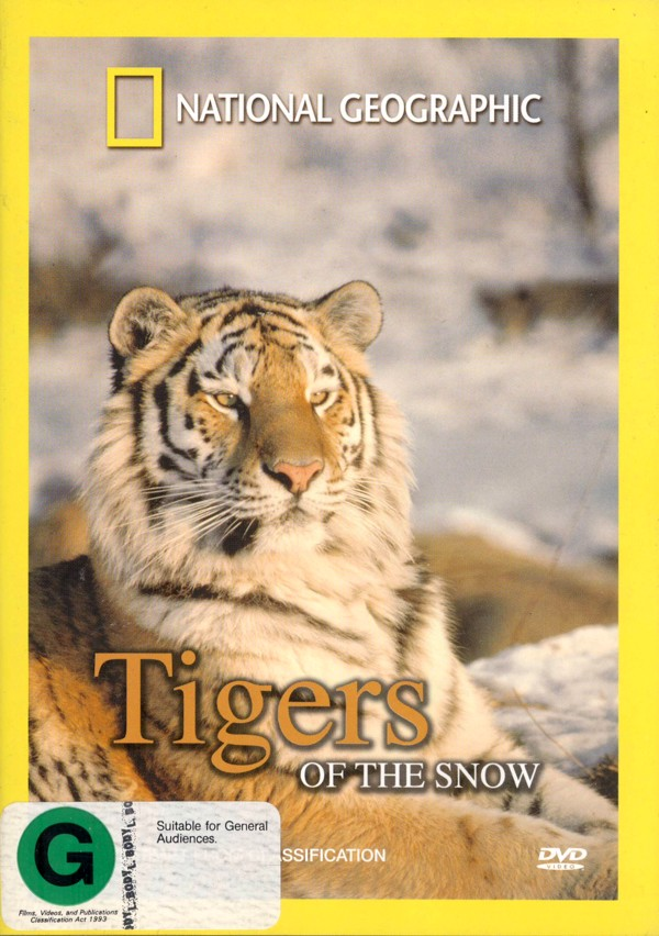 National Geographic - Tigers Of The Snow on DVD image