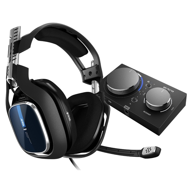 Astro A40 TR + MixAmp Pro V2 Gaming Headset (Gen 4) for PC, PS4
