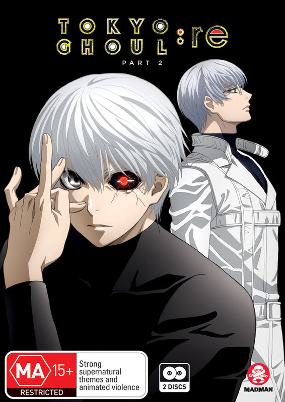 Tokyo Ghoul:Re (Season 3) Part 2 (Eps 13-24) on DVD