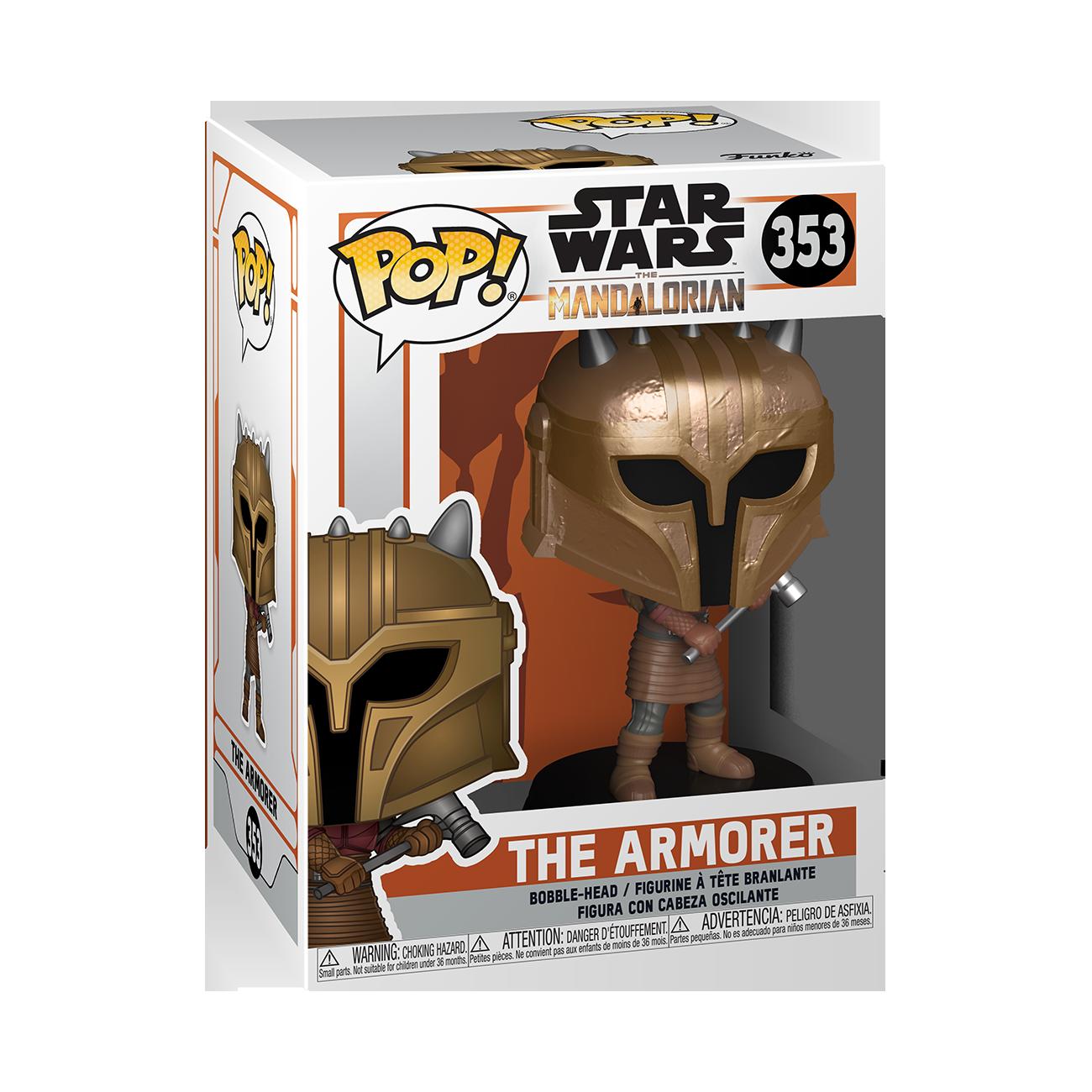 Star Wars: The Mandalorian - The Armor (Metallic) Pop! Vinyl Figure image