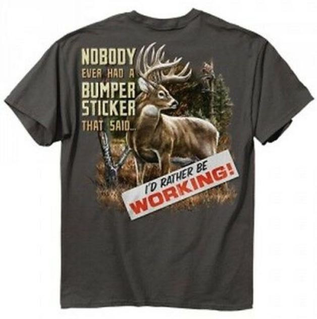 Buck Wear Bumper T-Shirt (Large)