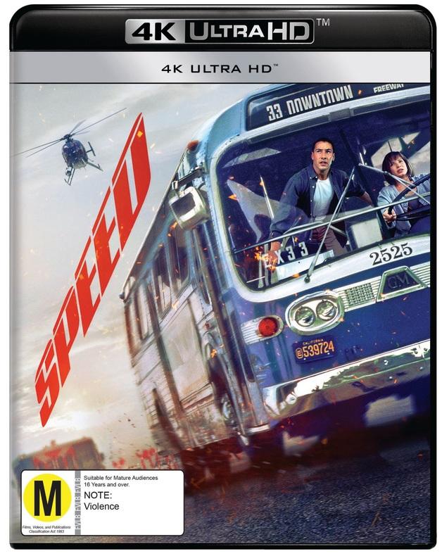 Speed (4K UHD) on UHD Blu-ray
