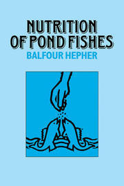 Nutrition of Pond Fishes by Balfour Hepher image
