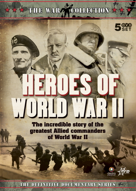 War Collection, The - Heroes Of World War II (5 Disc Box Set) on DVD