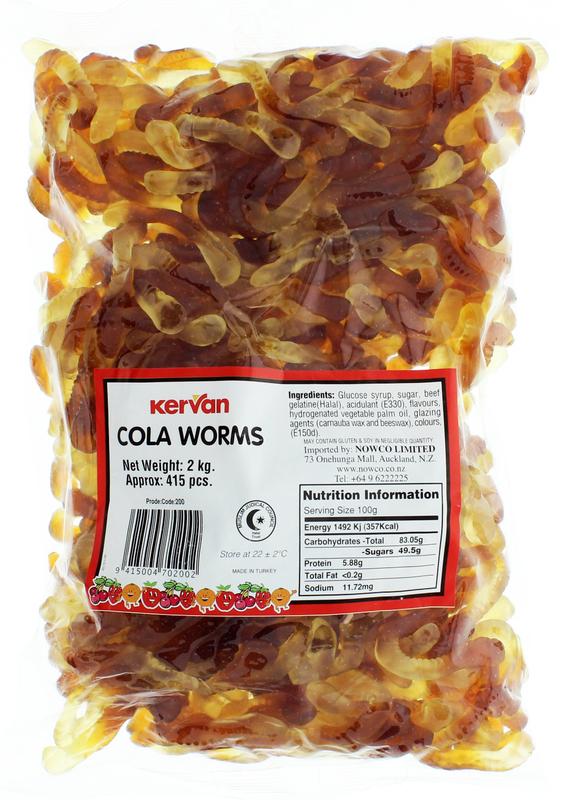 Kervan Cola Worms (2kg)