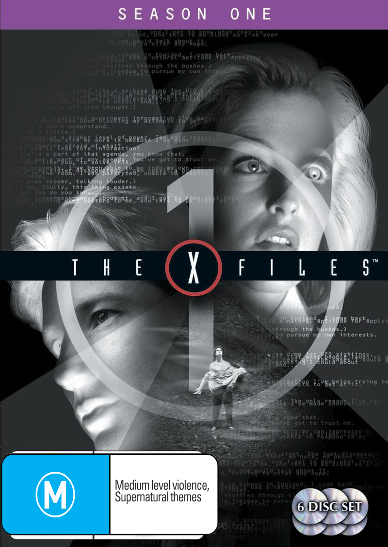 The X-Files - Season 1 (6 Disc Set) on DVD image