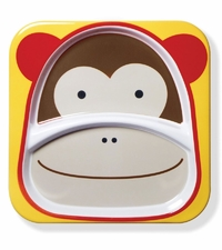 Skip Hop: Zoo Divided Plate - Monkey