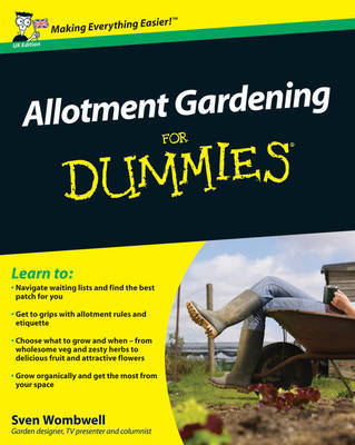 Allotment Gardening For Dummies by Sven Wombwell image