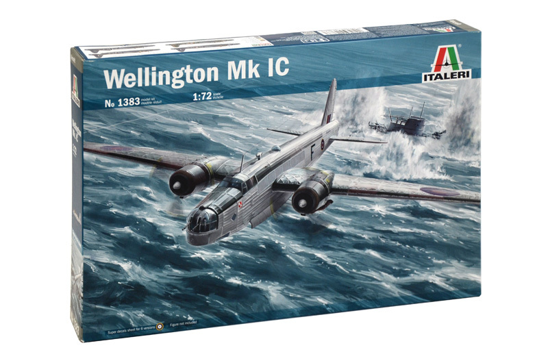 Italeri: 1/72 Wellington Mk. IC Model Kit image