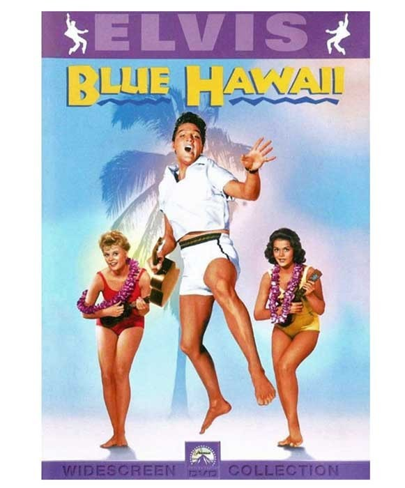 Blue Hawaii on DVD