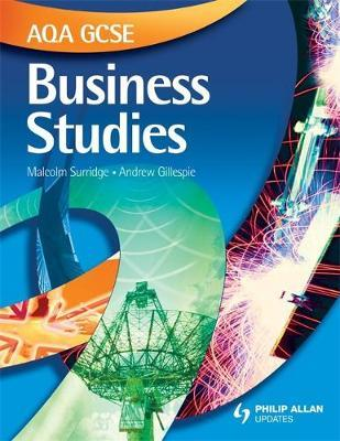 AQA GCSE Business Studies Textbook by Andrew Gillespie image