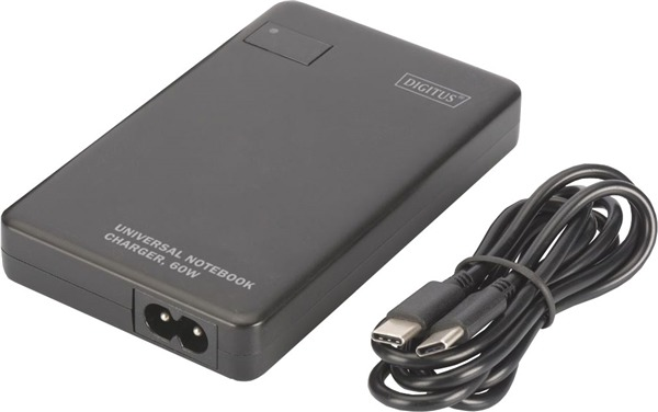 Digitus Universal USB Type-C 60W Notebook Charger image