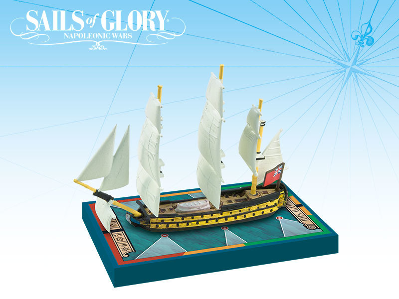 Sails of Glory - HMS Agamemnon / HMS Raisonnable image
